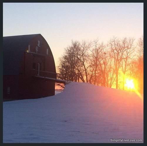 free barn in Eastern Iowa
