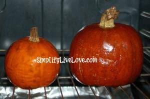 cooking pie pumpkins