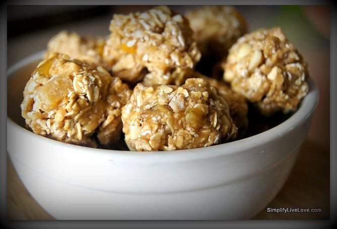 Chewy Granola Balls
