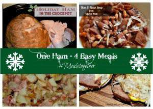 One ham four easy meals
