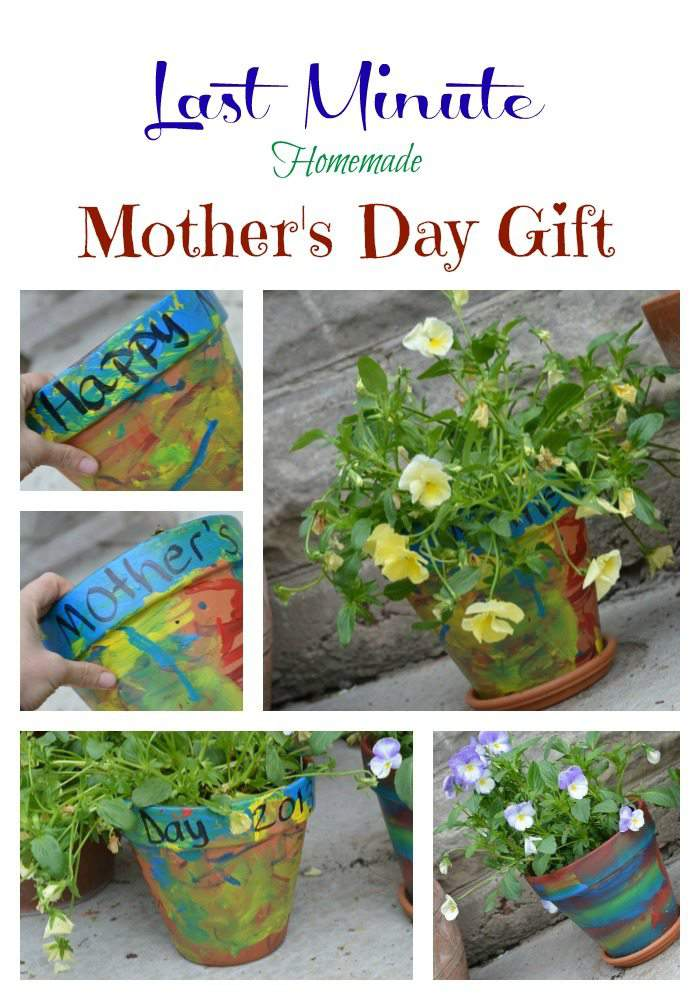 last minute homemade mother's day gift