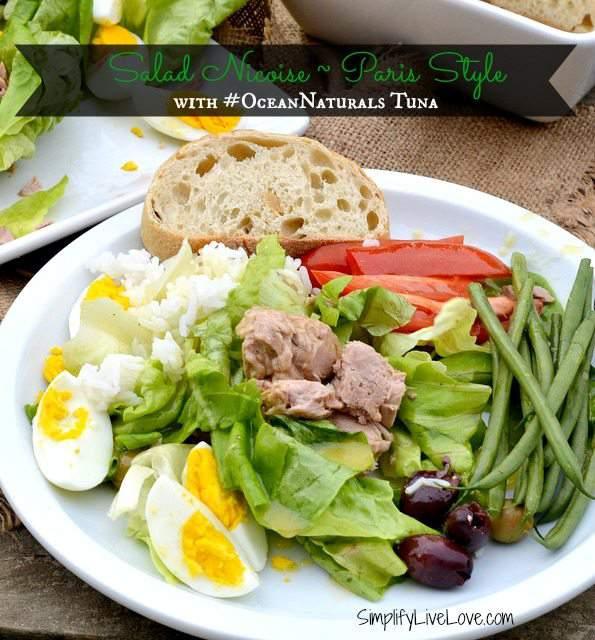 Salad Nicoise with #OceanNaturals Tuna