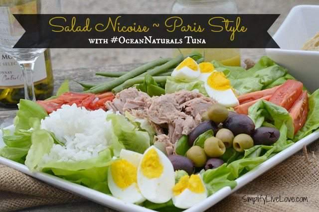 Salad Nicoise with #OceansNaturals Tuna #shop