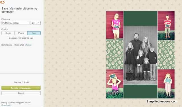 how to make polaroid pictures on picmonkey