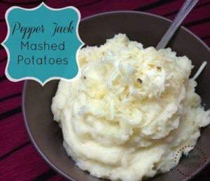 Pepper Jack Mashed Potatoes - Simplify, Live, Love
