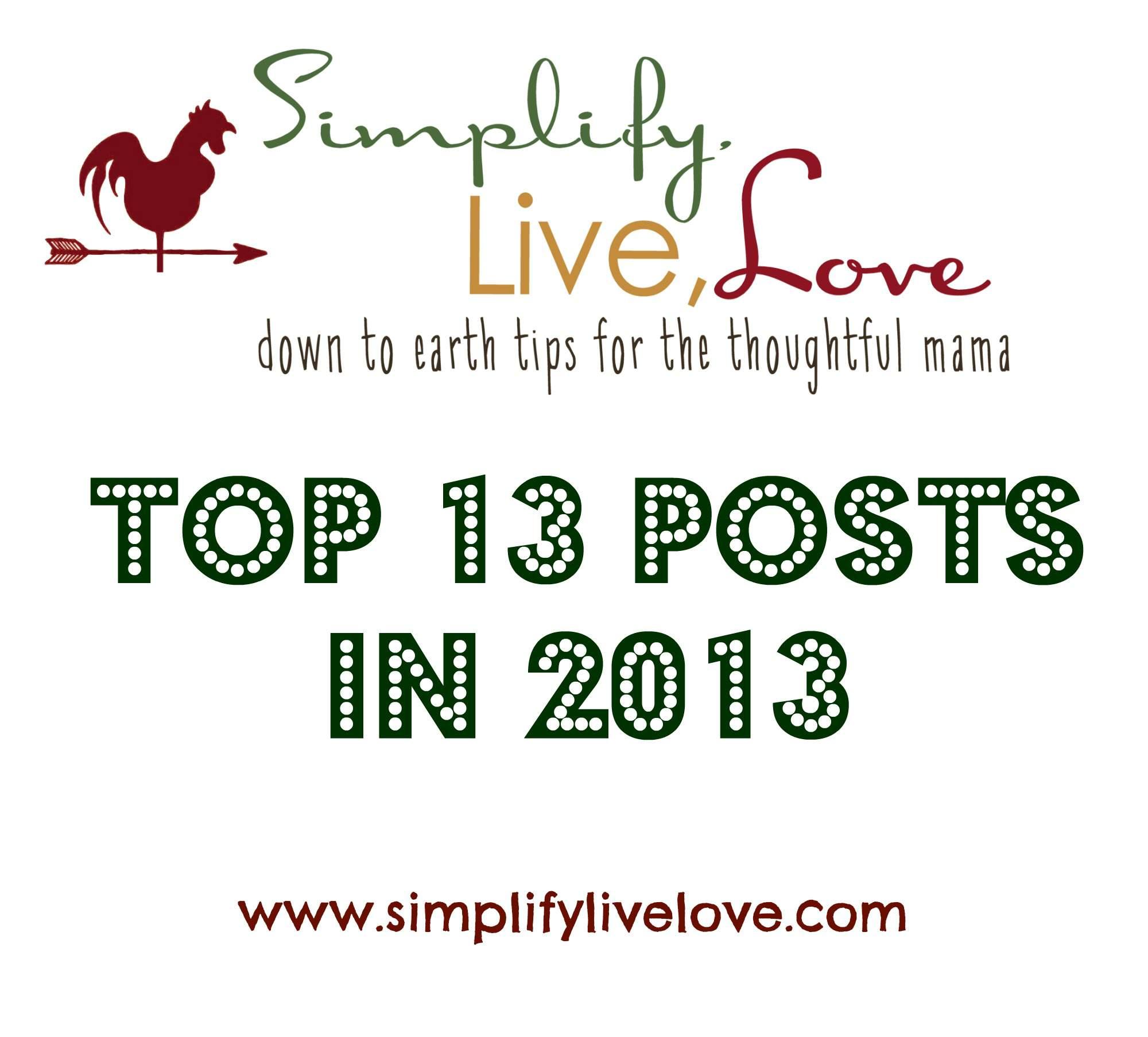 top 13 posts of 2013