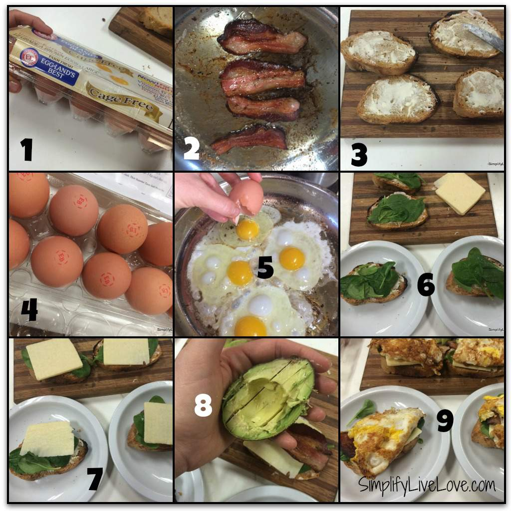 5 minute egg and cheese sandwich eggland's best