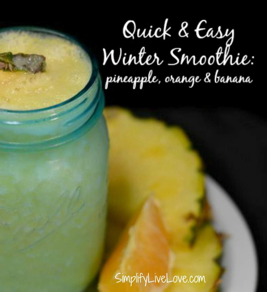 Quick and Easy Winter Smoothies