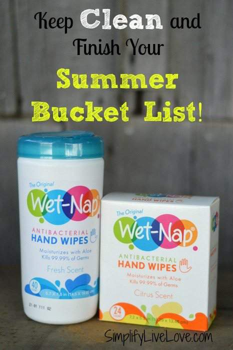 Keep clean and finish your summer bucket list #showusyourmess #pmedia