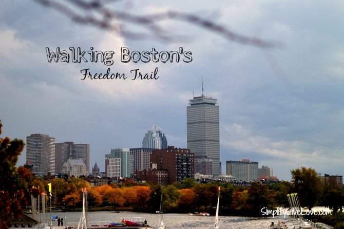 Walking Boston's Freedom Trail