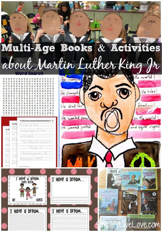 essay about martin luther king jr for children