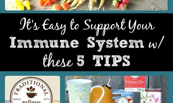 5 Easy Ways to Support the Immune System