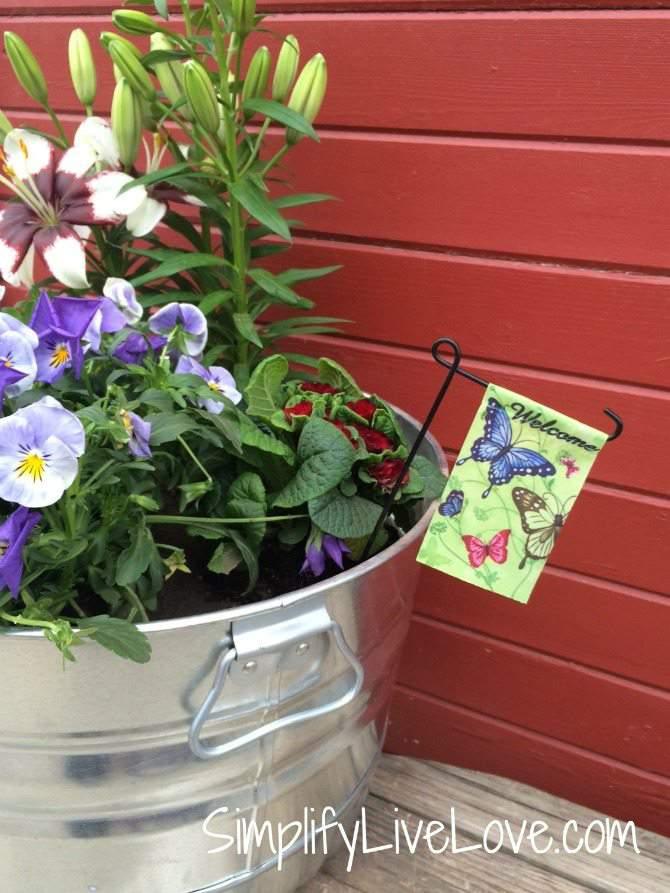Be a Butterfly Hero – Grow a Butterfly Garden in a Pot - welcome butterflies