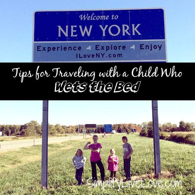 Tips for Traveling with a child who wets the bed #ConquerBedWetting #ad