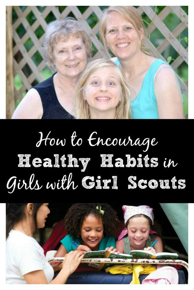 How to Encourage Healthy Habits in Girls with Girl Scouts - get outside with Girl Scouts (SimplifyLiveLove.com.com)