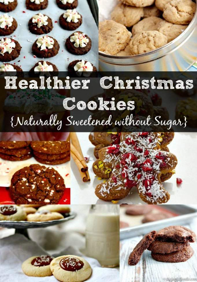 Healthier Christmas Cookie - Naturally Sweetened without Sugar