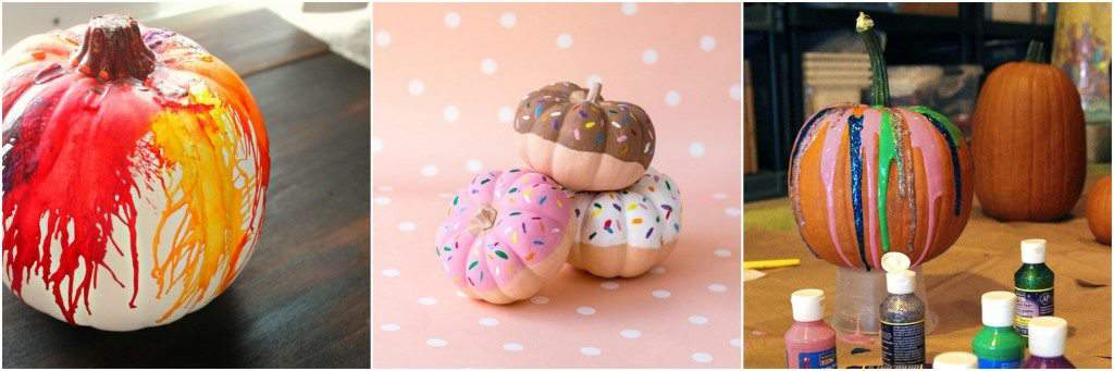 Easy No Carve Pumpkin Ideas for Kids