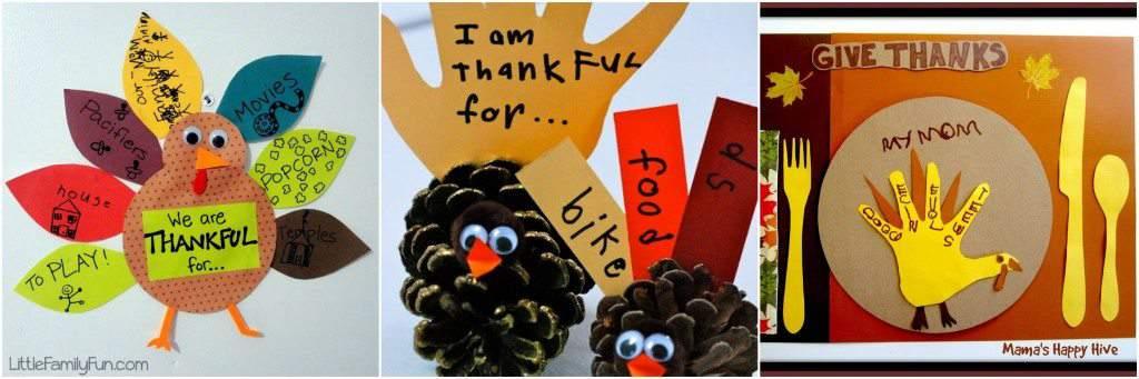 beyhond the thankful tree- turkey crafts