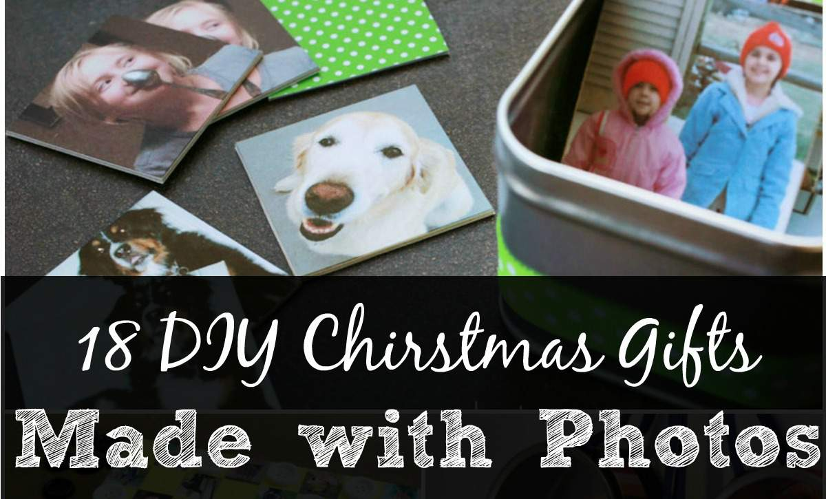 18 DIY Christmas Gifts made with photos fb from SimplifyLiveLove