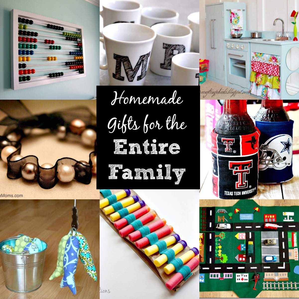 Best Christmas Gift Ideas: DIY Christmas Gift Ideas For The Entire Family