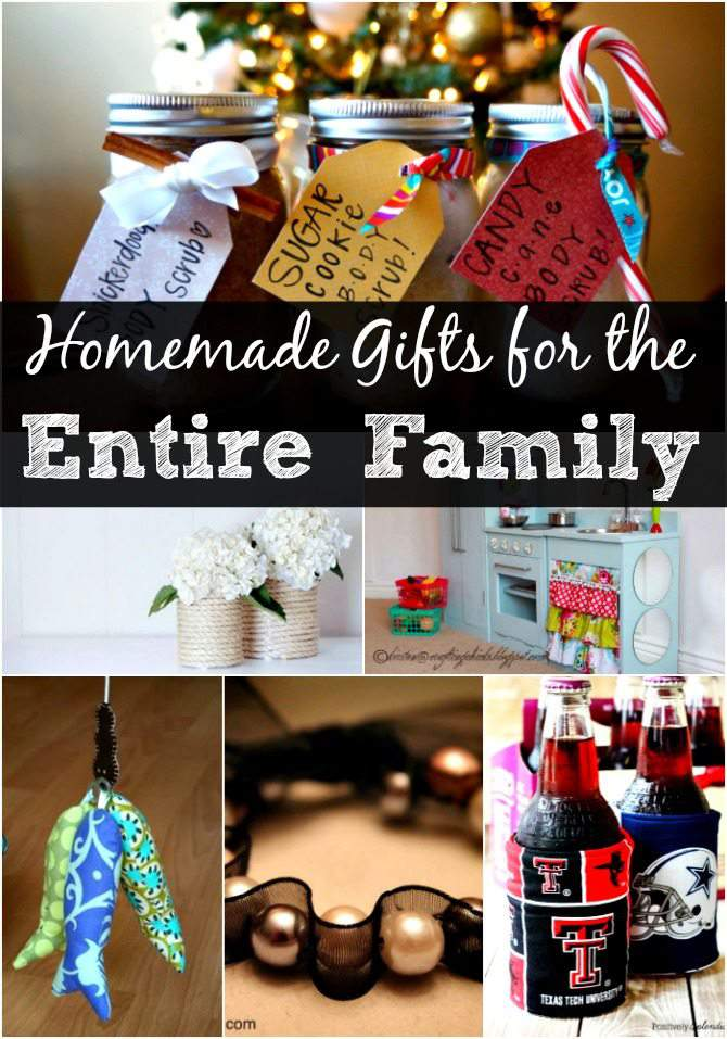DIY Christmas Gift Ideas for the Entire Family - over 30 ...