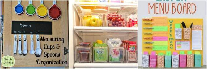 Basic Home Organization Tips for the most Unorganized Person - how to organize your kitchen