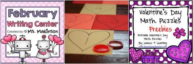 Homeschool Fun Learning Activites for Valentine's Day