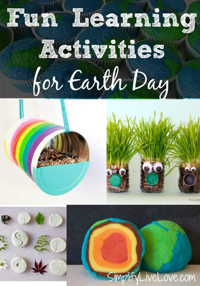 These fun and multi-age Earth Day Learning Activities are a great way to teach children to take care of the earth! Add a couple to Earth Day this year!