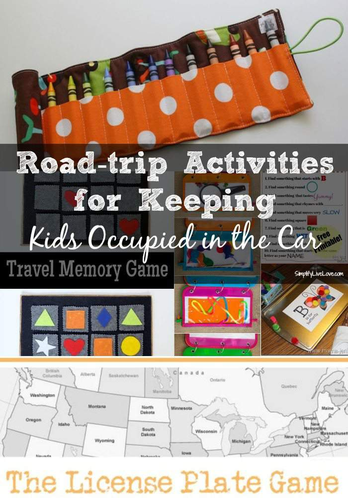 Road-trip Activities for Keeping Kids Occupied in the Car