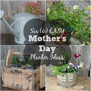 6 Easy Mother's Day Planter Ideas