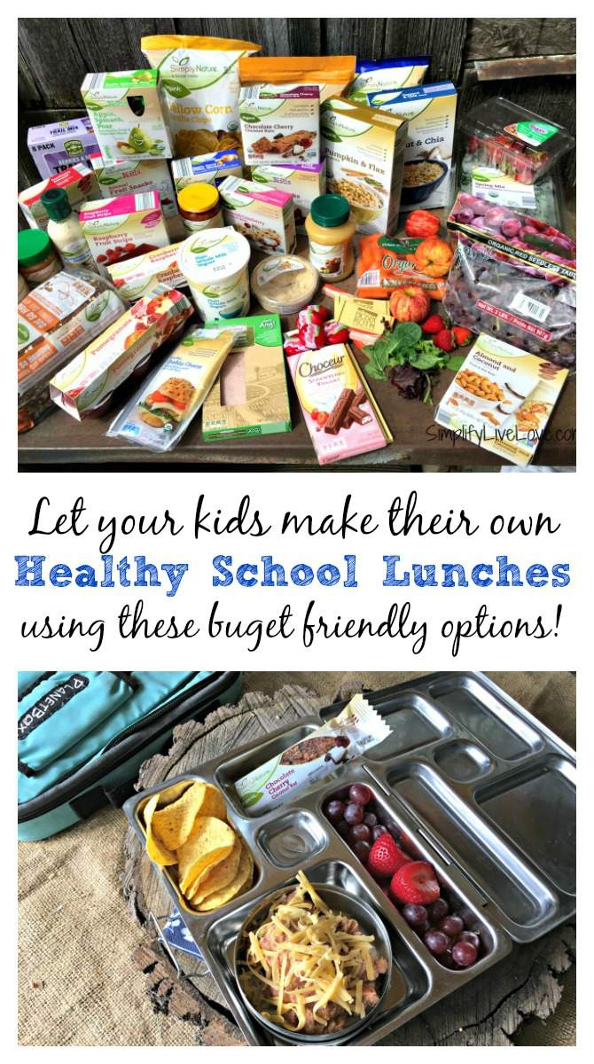 Healthy Back to School Lunches your kids can make themselves!