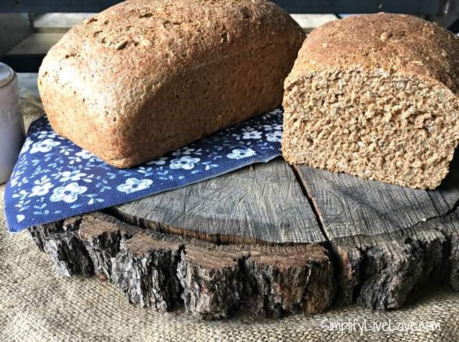 Honey Oat Whole Wheat Bread