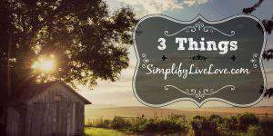 3 Things 1.14.17: 2017 Blog Goals; Video Home Tour; Ninja Coffee Bar