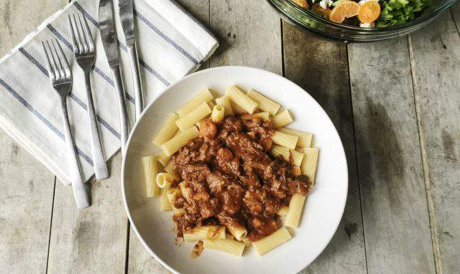 Beef with Rigatoni – Hearty & Delicious Instant Pot Meal