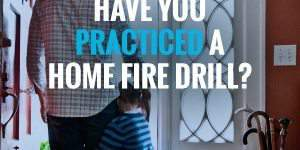 Make a Fire Escape Plan for Your Home #HomeFireDrillDay