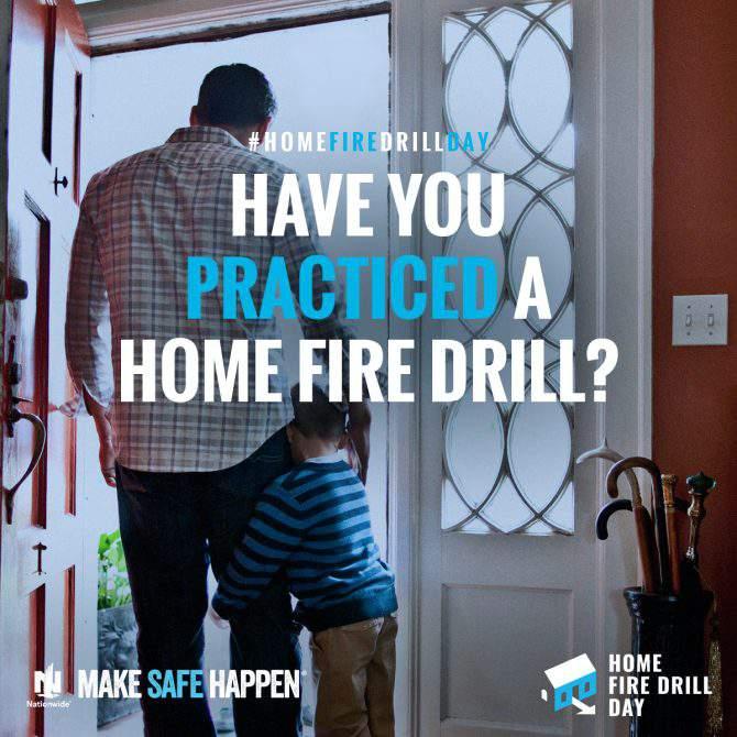 home fire drill