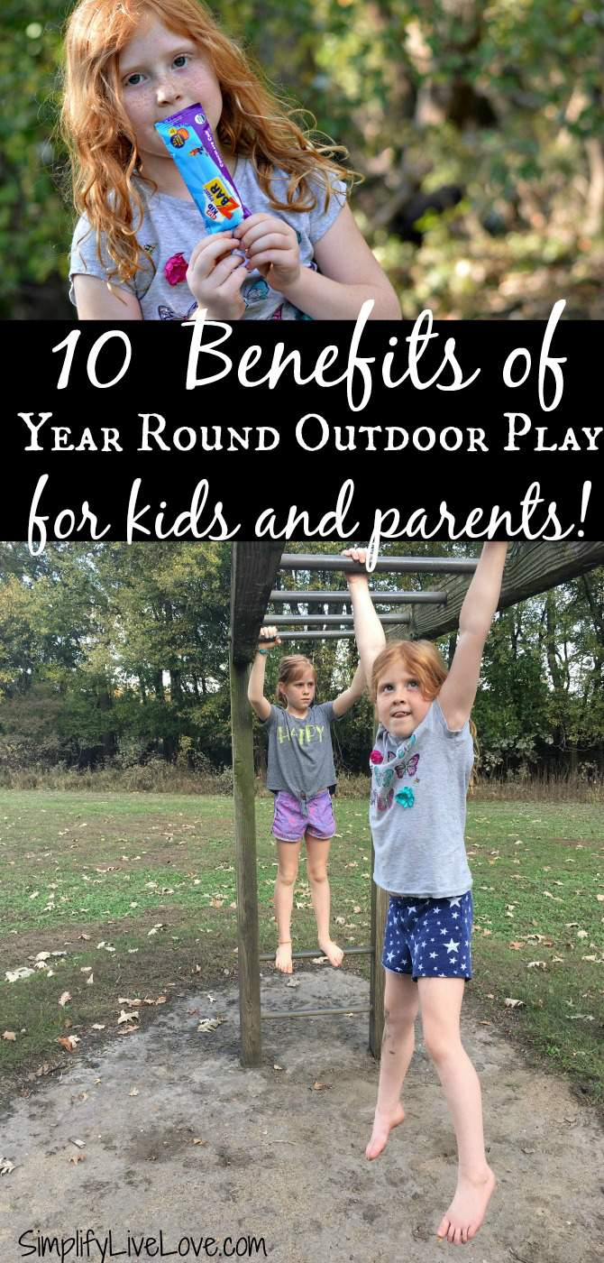 10 Benefits of Year Round Outdoor Play, for kids and parents! Let CLIF Kid inspire you to get outdoors with your family during all sorts of weather. The benefits are immeasurable. AD
