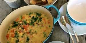 Immune Boosting Creamy Chicken Stew