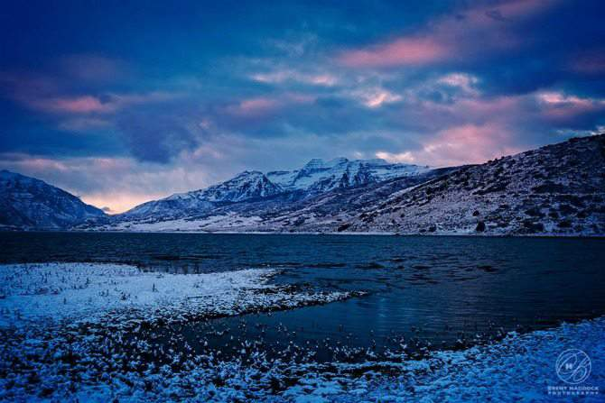 Breathtaking Scenery in Heber Vally Utah - a fun, family friendly winter vacation destination.