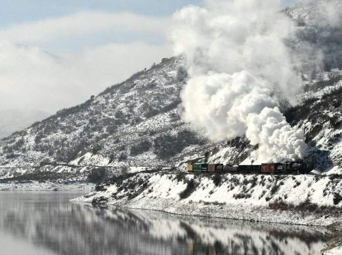 Heber Valley Winter Train