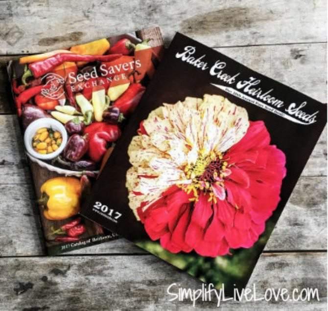 2017 Garden Seed Order