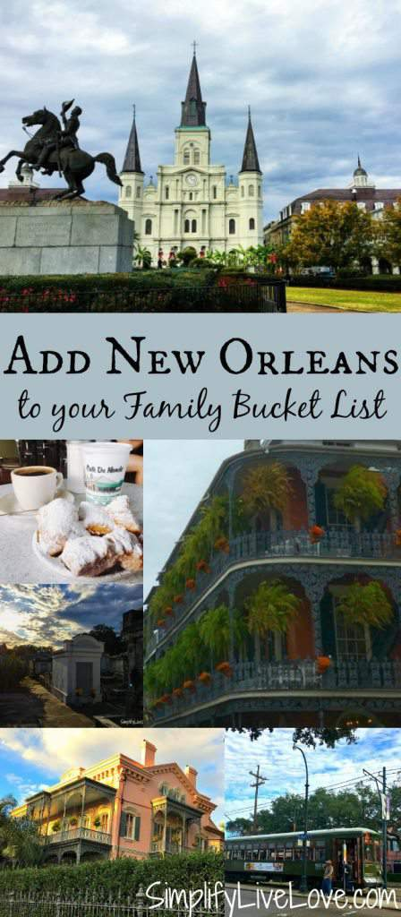 Find out all of the many things to do in New Orleans and add the city to your family bucket list.