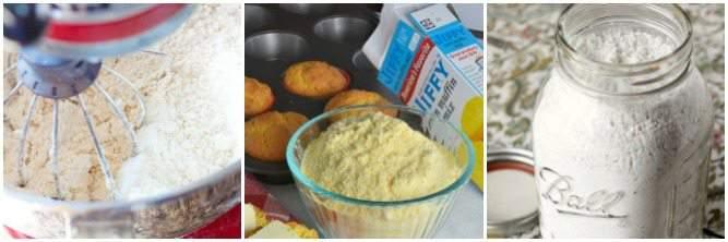 Homemad savory baking mixes