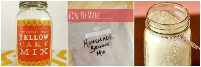 Homemade Baking Mixes for Dessert