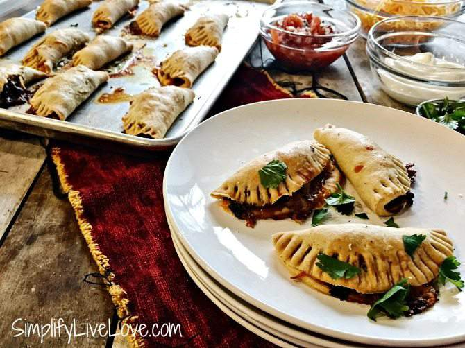 Make Ahead Appetizer Recipe - Baked Taco Empanadas