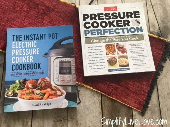 favorite Instant Pot cookbooks