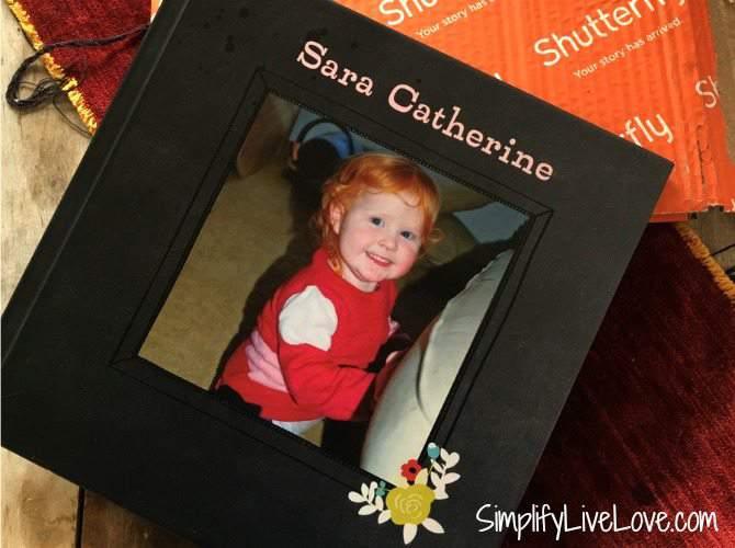 Sara Catherine Shutterfly Photo Book