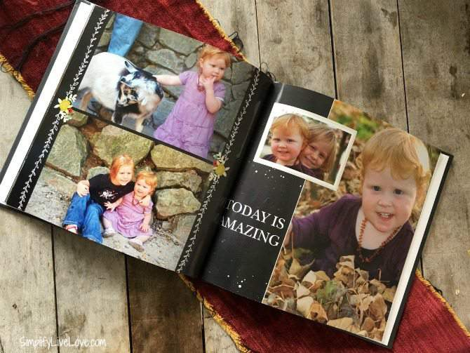 Shutterfly Make My Book inside pictures