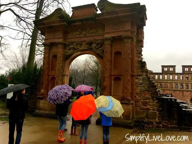 Elizabeth Gate -Heidelberg Castle