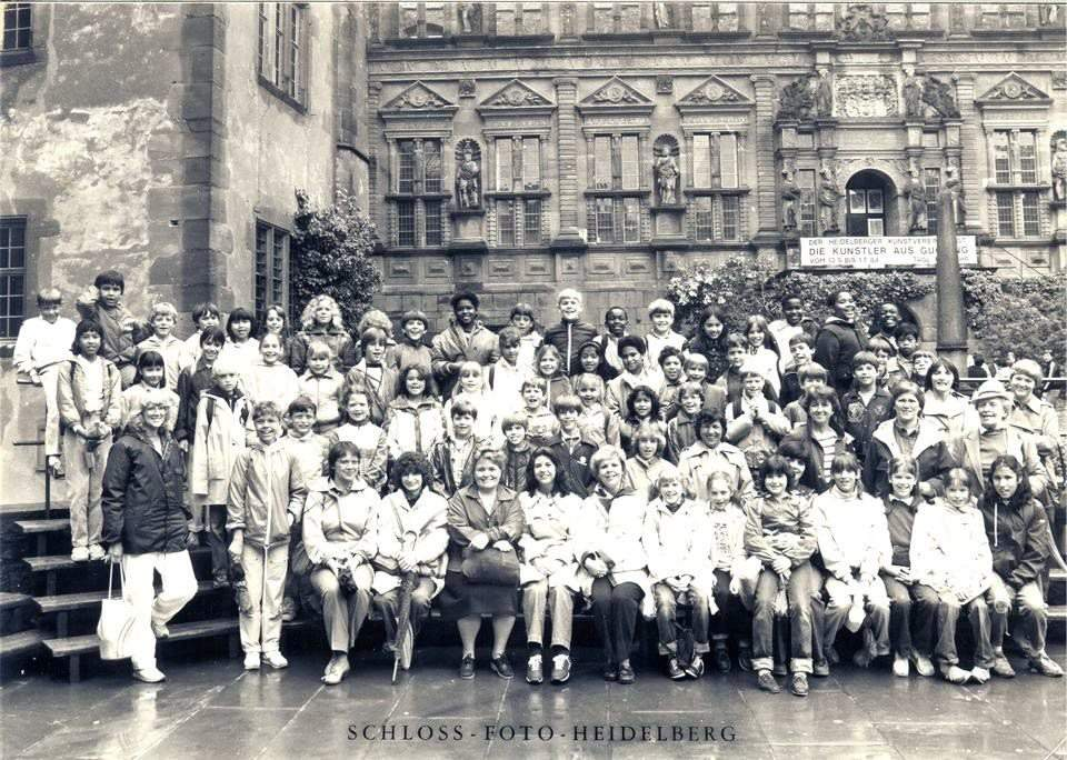 4th or 5th grade class trip to Heidelberg Castle PHV Elementary School